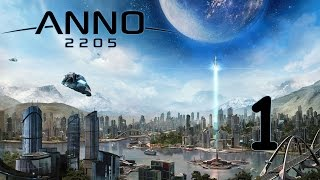Прохождение Anno 2205 #1 - Корпорация 'Houston Inc.'