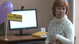 презентация проекта English 1 2 3 в библиотеке