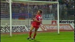 1991 Karlsruher SC - Fortuna Düsseldorf 1:5 | 2x Thomas Allofs | 1x Demandt, Schreier, Hey