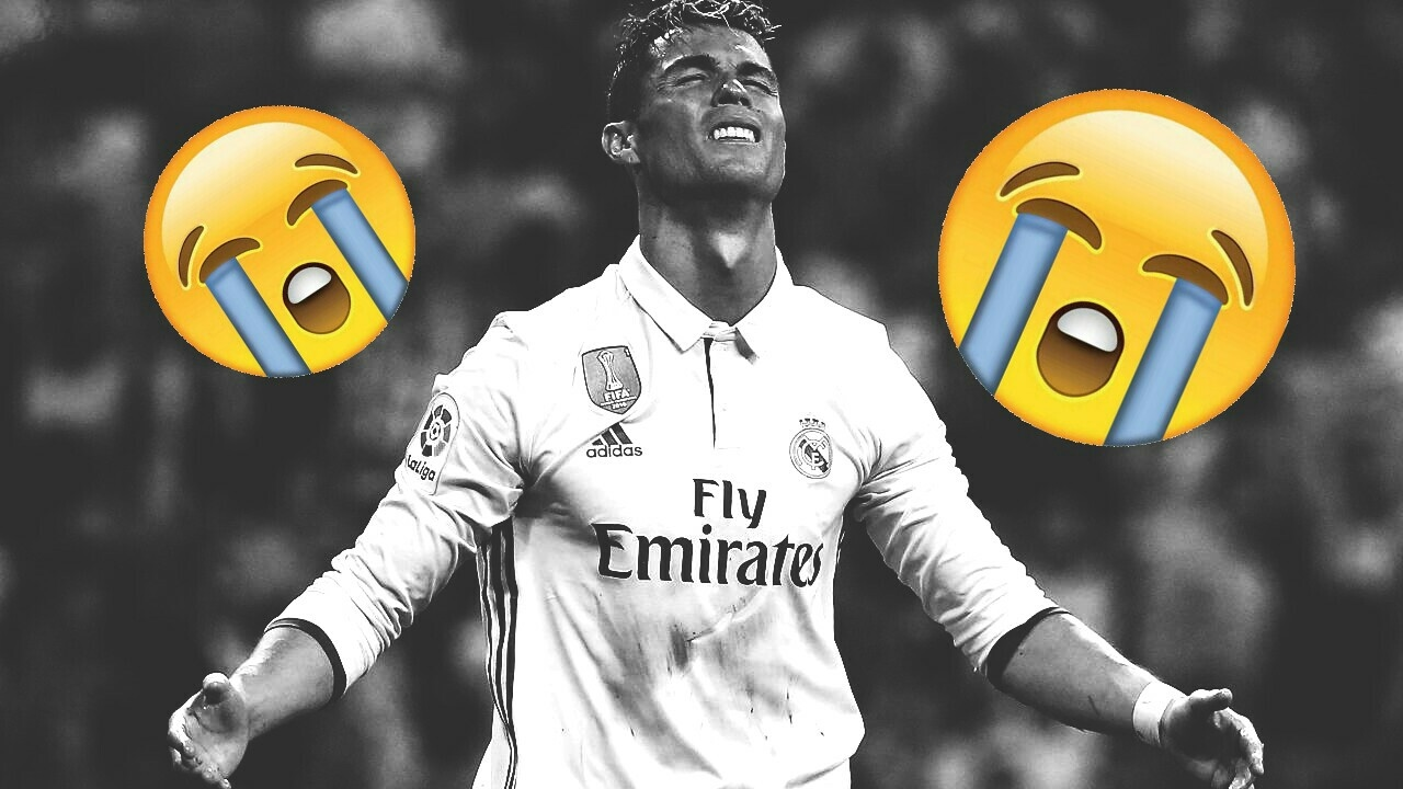 Cristiano Ronaldo Weint