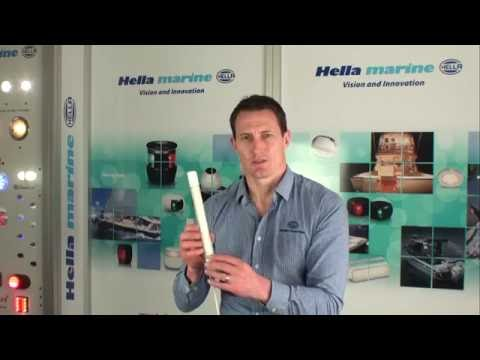 Hella marine strip lamps with waterproof switch