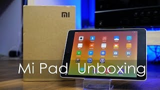 "Xiaomi Mi Pad 7.9"" Android Tablet Unboxing & Overview"