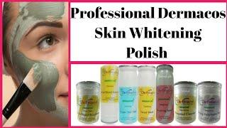 Salon Professional Skin whitening Polish at Home Dermacos Skin Polish review  worth it? (Urdu/Hindi)