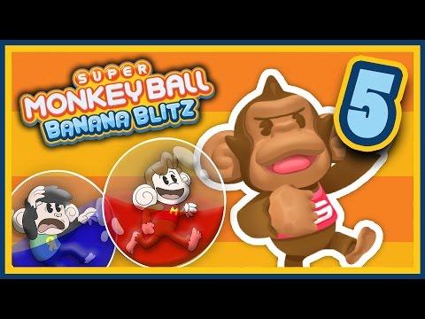 Super Monkey Ball: Banana Blitz - EP 5: These Damn Controls | SuperMega