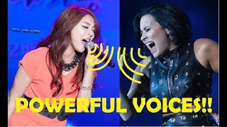 Powerful Voices - Best High Notes!