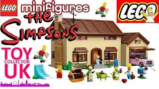 Simpsons Lego House 71006 - Review And Speed Build Time-lapse Of Simpsons Lego House
