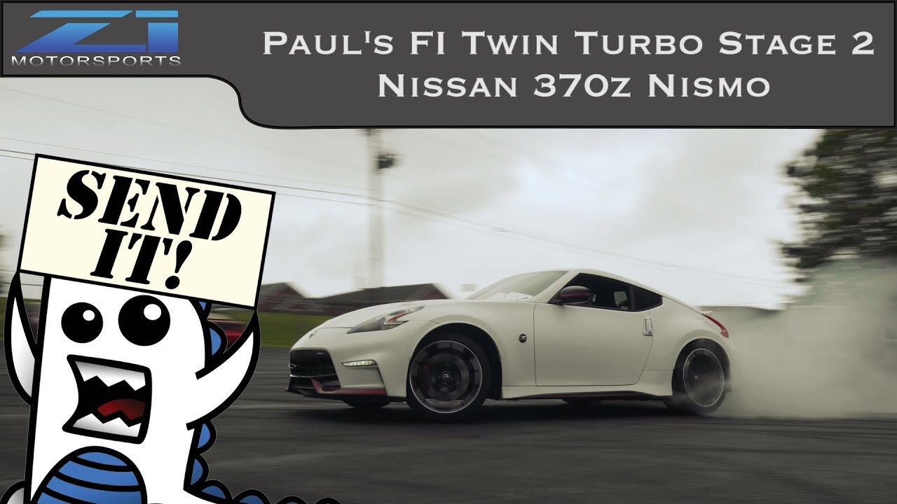 Paul's Fast Intentions Twin Turbo 370z Nismo
