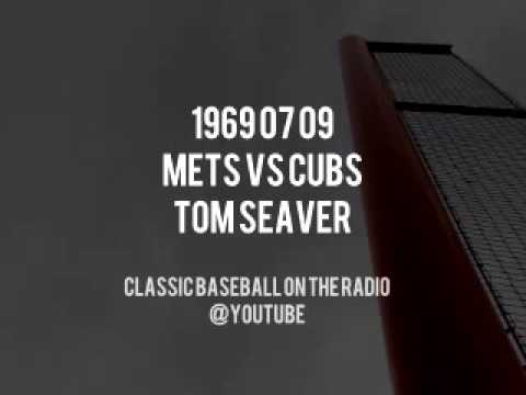1969 07 09 Mets vs Cubs Seavers Near Perfect Game Bob Murphy Ralph Kiner Classic Broadcast
