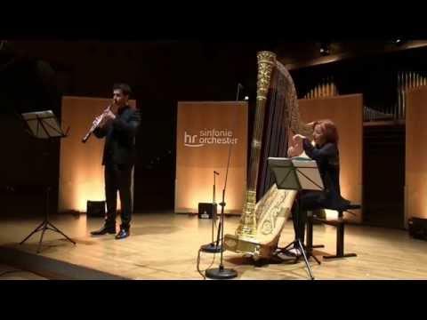 Claude Debussy - Reverie et deuxieme arabesque für Oboe und Harfe