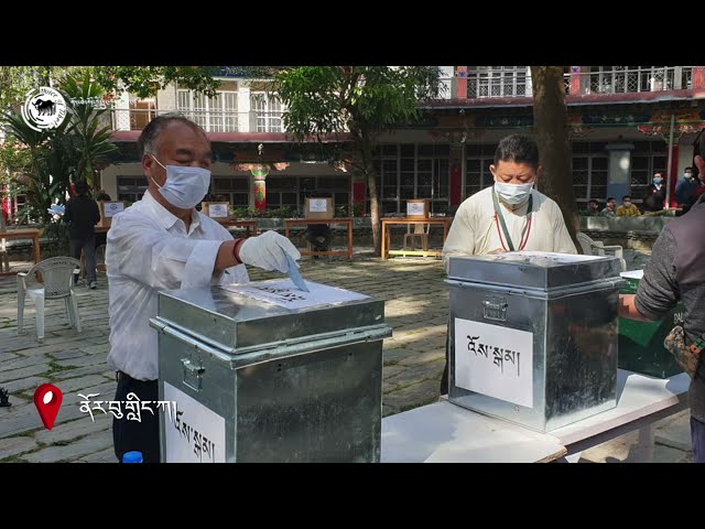 Sikyong and MPs Election, Photo collection 2021.