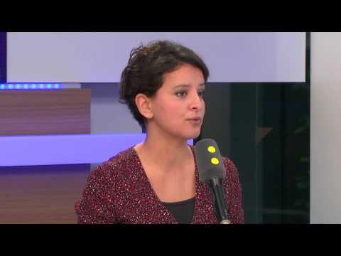 """Présidentielle : Najat Vallaud-Belkacem veut """"défendre la gauche maintenant"""" avec Benoît Hamon"""