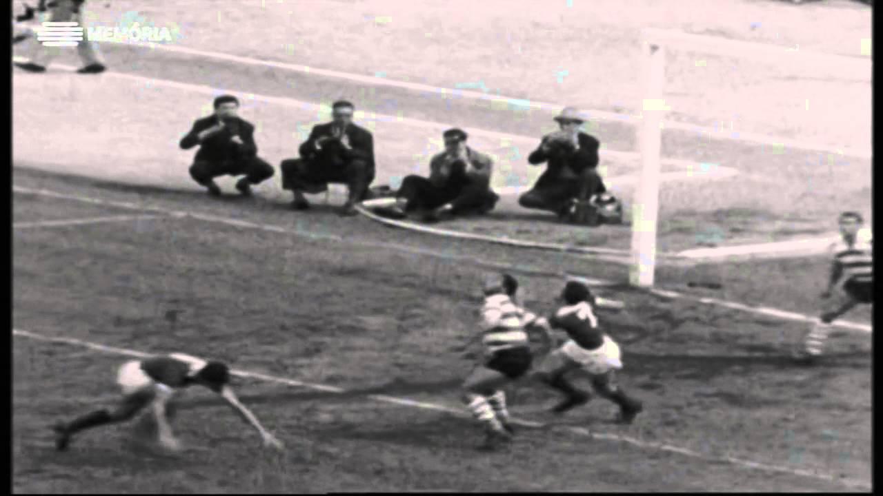 Sporting - 1 x Benfica - 1 de 1960/1961