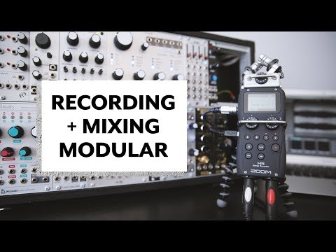 Recording and Mixing Modular Synth