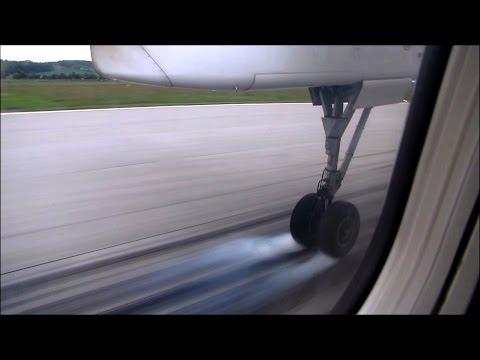 Lot z Gdańska do Krakowa / Flight from Gdańsk to Kraków
