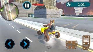 Bike Race Simulator - quad bike games - Gameplay Android games