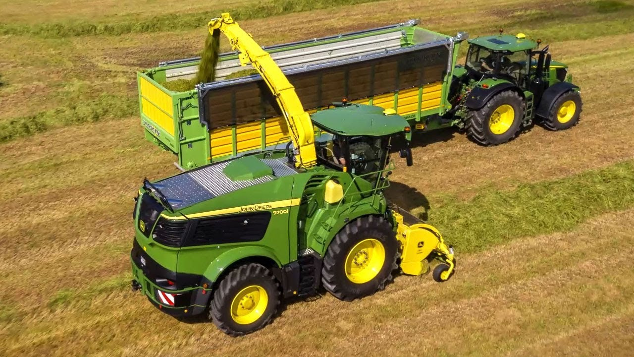 Krone and John Deere launch revamped harvesting units