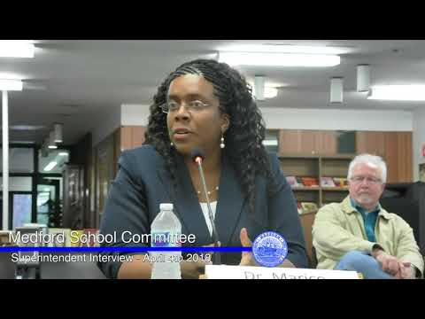 Medford School Committee - Superintendent Interviews - Night 2 - 04/04/18