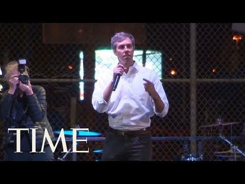 In Texas, President Trump Backs Wall While Beto O'Rourke Argues Walls Cause More Problems | TIME