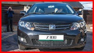Zotye Z300 Зоти Z300 В России стартовали продажи очередного китайского седана