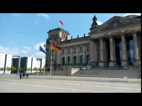 The German Parliament, Reichstag in Berlin