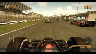 F1 2013 Classic Edition Gameplay - Fittipaldi Lotus 98T Brands Hatch [PT BR]