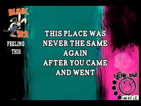 Blink 182 - Feeling This (Karaoke)