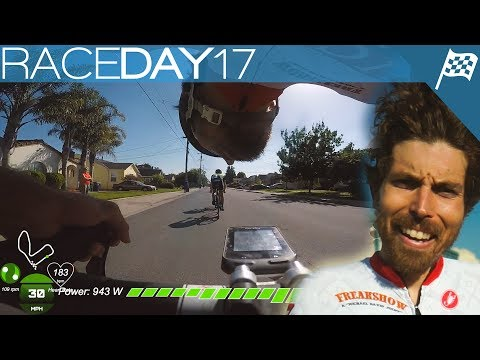 Non-Stop Attacking In The Crit | Raceday Vlog