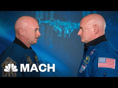 Astronaut Scott Kelly's DNA Changed After A Year In Space Mach | NBC News