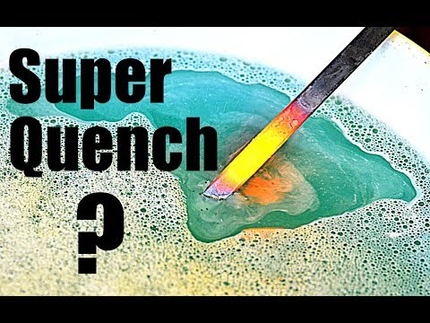 Hardening Mild Steel with Super Quench ?