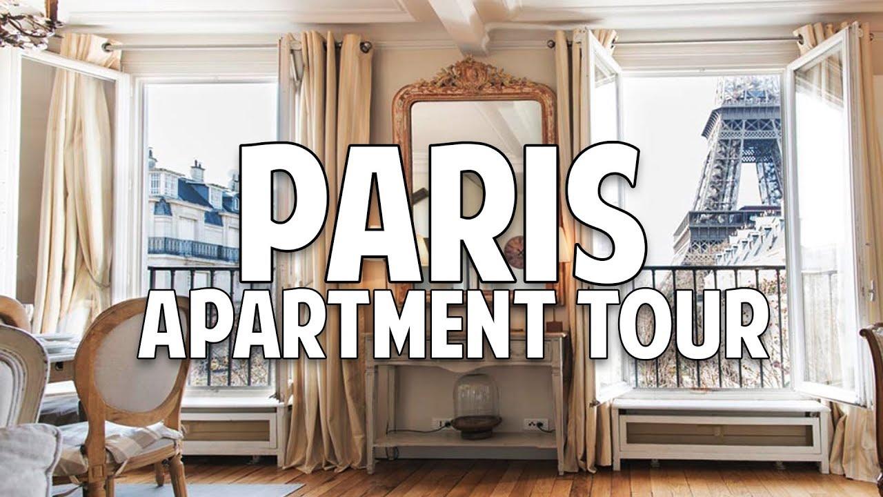 My Home In Paris what my 1200€/$1400 paris apartment looks like ?? | tarek ali