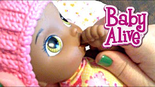 Baby Alive Snugglin' Sarina Doll Name Reveal
