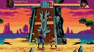 Mega Drive Longplay [455] Shaq Fu
