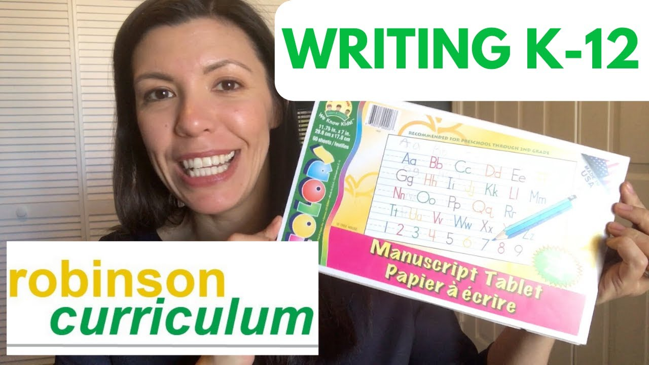 How to Start Robinson Curriculum Writing From the Beginning