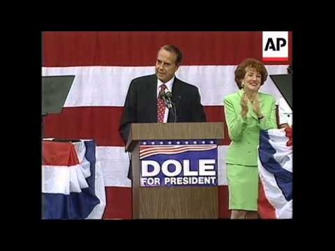 USA: BOB DOLE AND JAMES KEMP MAKE JOINT APPEARANCE: UPDATE