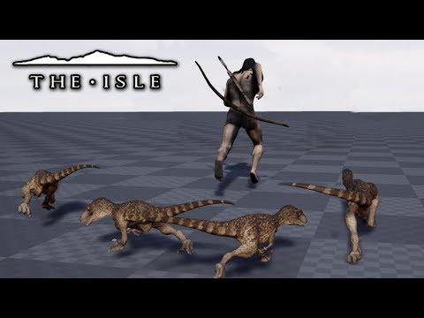 Hunted Down By Baby Dinosaurs!!! - The Isle