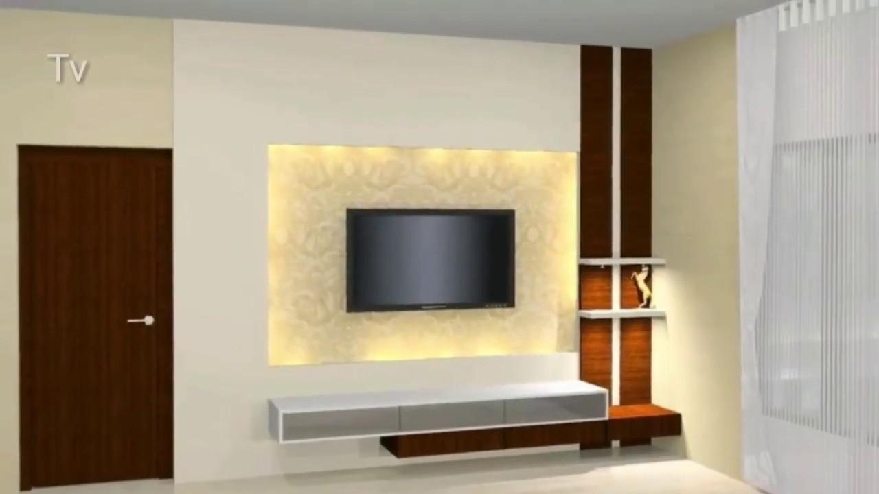 30 Simple TV Unit Designs for Living Room    Modern TV ...