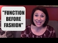 "The VOCAL WISDOM Series: ""Function Before Fashion"""