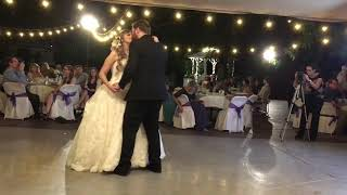 Genna and Christian first dance
