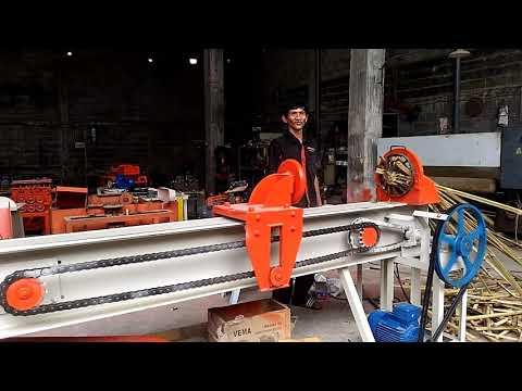 Mesin belah bambu