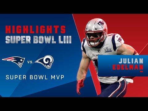 Every Catch from Julian Edelman's MVP Performance! | Super Bowl LIII Player Highlights