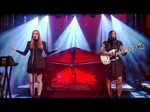 "[HD] Icona Pop - ""All Night"" 9/25/13 David Letterman"