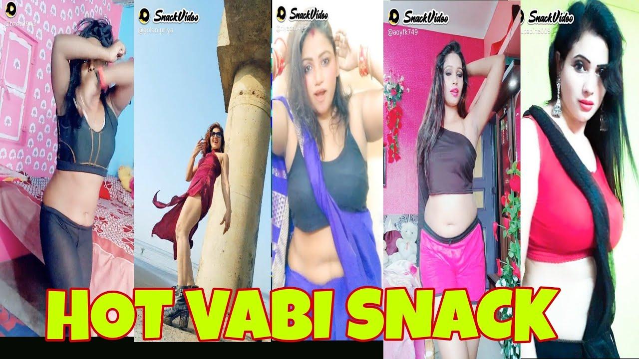 Download INDIAN HOT VABI DANCE || SNACK VIDEO || VIRAL SNACK VIDEO 2020 || CUTE GIRLS VLOGS