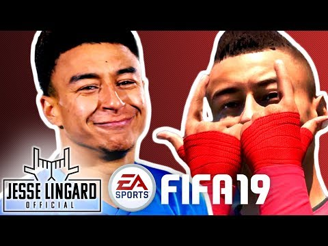 FIFA 19 Goals Recreated: Can Jesse Score This Incredible Volley?!   Champions League   Jesse Lingard