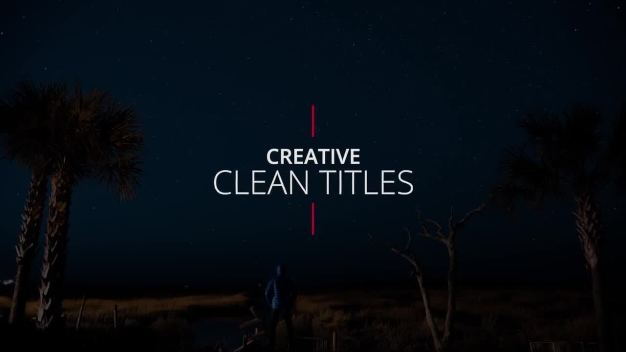 Creative Clean Titles Premiere Pro Templates - YouTube