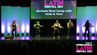 Bachata Bootcamp (Singapore International Latin Festival 2017) | Joy Leng