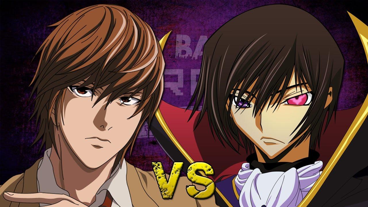 Light Yagami vs Lelouch Lamperouge - Épicas Batallas de Rap del Frikismo