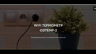 Обзор WIFI термометра ODTEMP-2