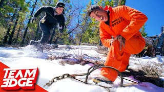 Prison Break Challenge With Primitive Technology!!