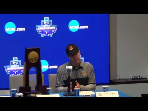 Maryland Lacrosse - Postgame Press Conference National Championship 2017 Terps v Ohio State