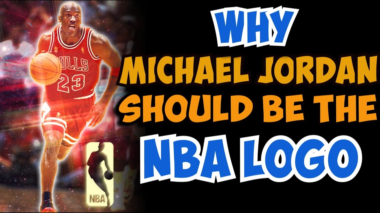 genéticamente Comerciante itinerante Parte  Why Michael Jordan SHOULD be the NBA LOGO! - YouTube